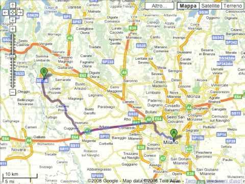 Cartina Italia Google Maps.Indicazioni Stradali Su Google Maps Youtube