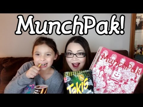 We Got A MunchPak Box! - Snacks From Around The World - International Candies and Snacks