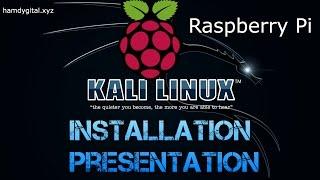 Tuto | Installation complète et présentation de Kali Linux sur Raspberry Pi | Hacking | Français HD