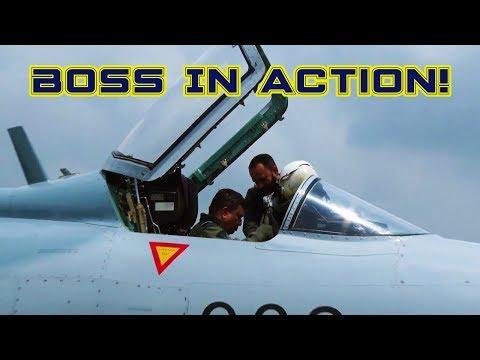ফাইটার জেট উড়িয়ে বিমান বাহিনী প্রধানের যাত্রা শুরু | Bangladesh Air Force Flew Fighter Jet