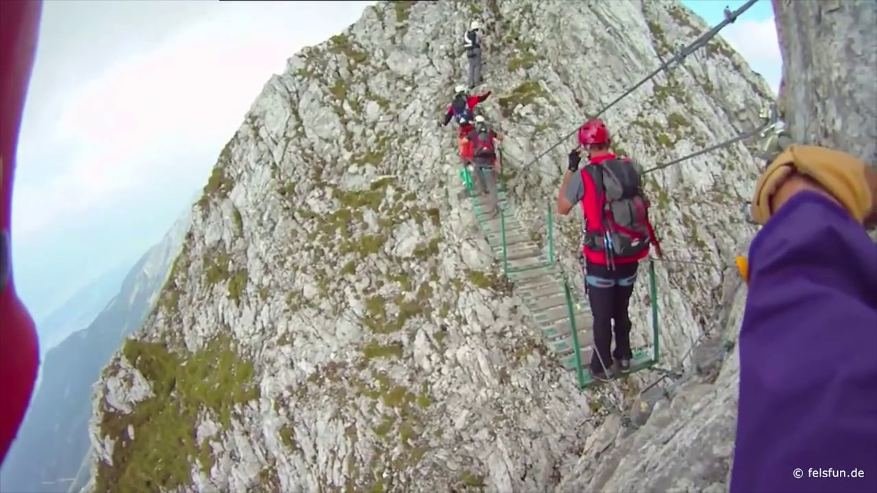 Klettersteig Nordkette : Innsbrucker klettersteig teil 1 und 2 youtube