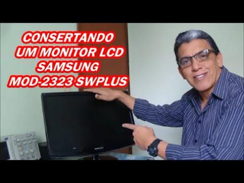 CONSERTANDO UM MONITOR SAMSUNG MOD 2223SW PLUS