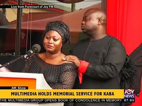 Multimedia Holds Memorial Service for KABA - AM Show on JoyNews (20-11-17)