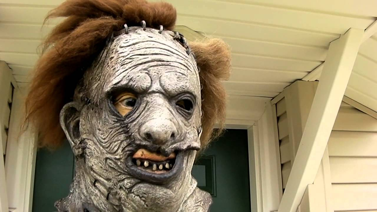 Texas Chainsaw Massacre Remake Leatherface Costume - YouTube