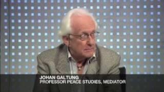GALTUNG: SOLVING ISRAEL & GAZA CONFLICT