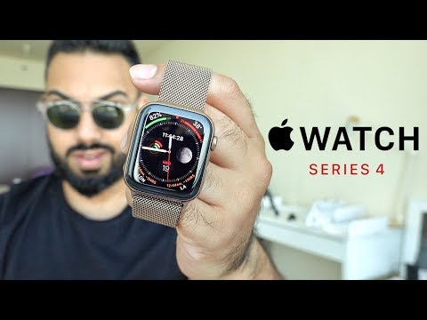 Gold Apple Watch Series 4 UNBOXING and REVIEW
