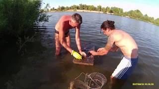 Отдых и рыбалка на Ахтубе, с. Пироговка сентябрь 2017г.