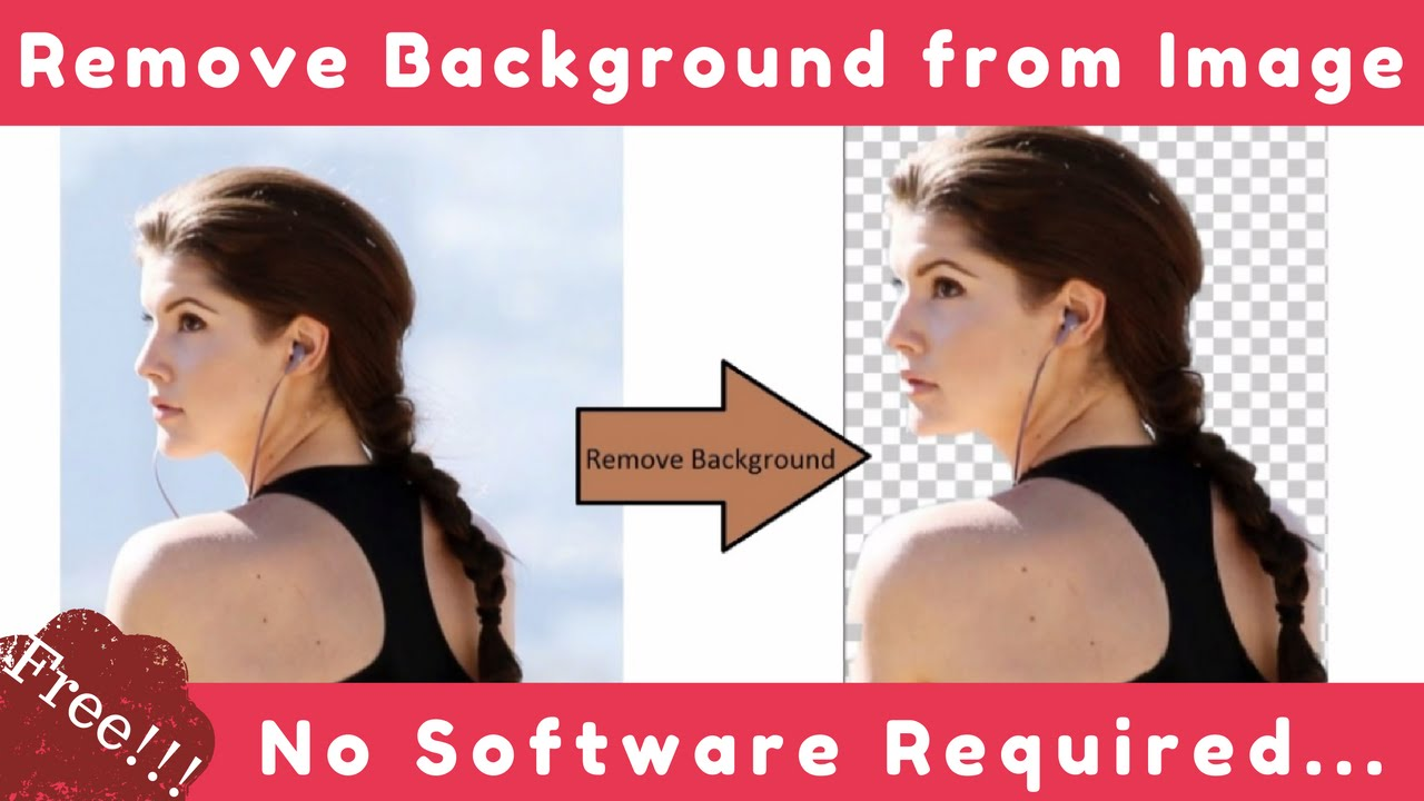 Background image remover - Remove Background From Image Free No Software Needed