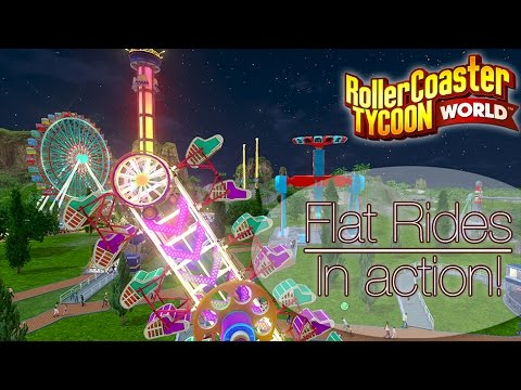 RCT World: Flat rides in action