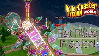 rct world flat rides in action improved animations