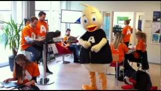Harlem Shake - Andy the Duck, Aarhus University Career Festival