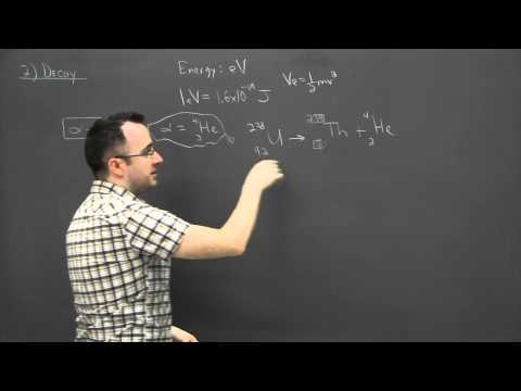 IB Physics SL revision - Nuclear 2 - decay