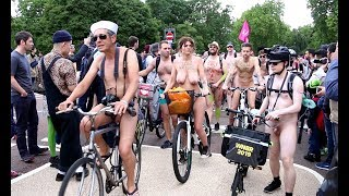 🚴🏻♂️ World Naked Bike Ride London Hyde Park June 8 2019 🚴♀️