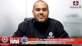 Aviso meteorológico PROTECCION CIVIL CLIMA