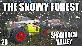THE SNOWY FOREST | Shamrock Valley | Farming Simulator 17 - #20