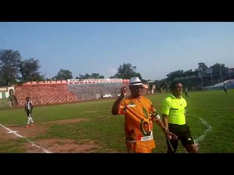 Governor Obiano Shows Off His Football Skills At Anambra Stadium (Watch Video)