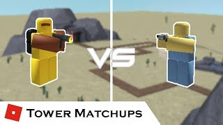 A Battle of Fire and Ice | Tower Matchups | Tower Battles [ROBLOX] ft. 19wongs4