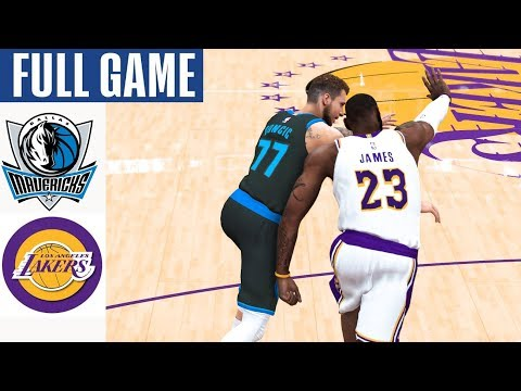 Dallas Mavericks Vs La Lakers Full Game Highlights