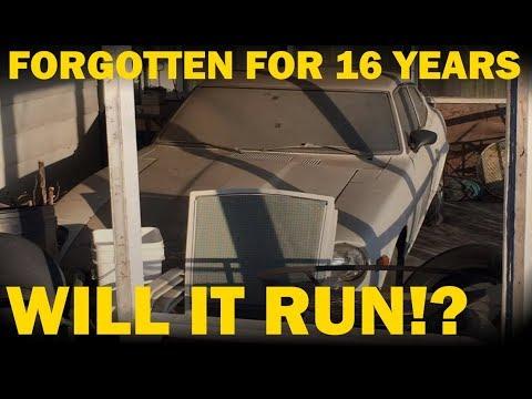 Forgotten 260z First Start in 16 Years!! Datsun Revival -- Part 1