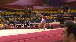 Yul Moldauer - Floor Exercise - 2018 World Championships - Event Finals