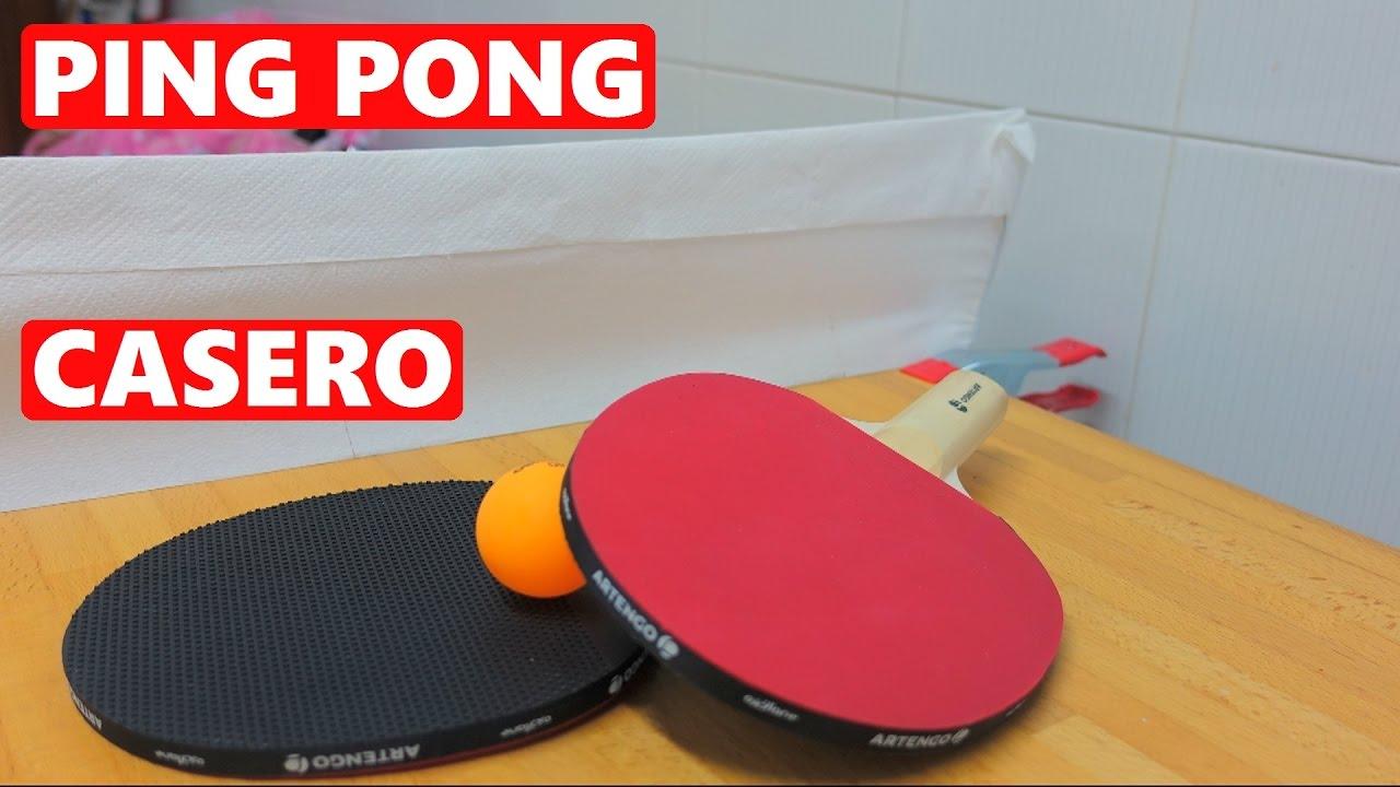 Como Hacer Una Mesa De Ping Pong Casera Youtube
