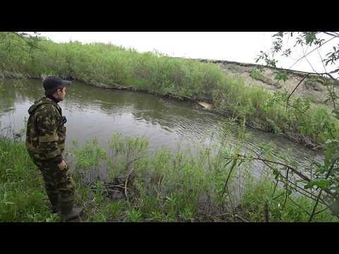 Рыбалка на реке Бузим. 04.06.17