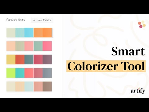 Colorize our designs with our tool.