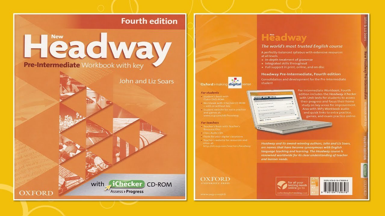 حل كتاب new headway plus elementary workbook