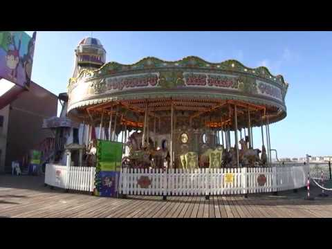 Brighton Seafront And Palace Pier East Sussex