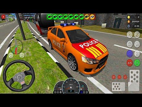 Polis Otobüsleri Konvoy Simülatörü // AAG Polisi Simulator - Android Gameplay FHD