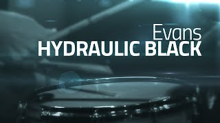 Evans Hydraulic Black Coated - Snare Drum Head Review