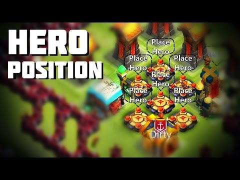 Castle Clash: Hero Position / Selection - HBM