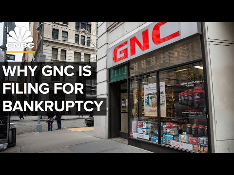 Why GNC Slumped During The Vitamin Supplement Boom