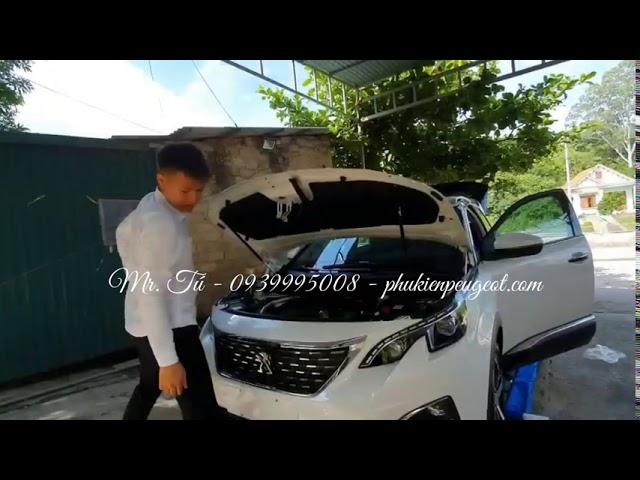 [ Thực Tế ] Ty thuỷ lực xe Peugeot 3008 all new