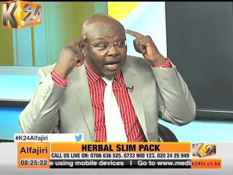 Alfajiri interview: Herbal slim pack- Dr. Peter Murugu, Murugu clinic.