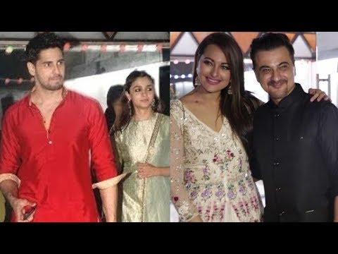 Sanjay Kapoor's Birthday Bash 2017 | Alia Bhatt, Sonakshi Sinha, Sidharth Malhotra
