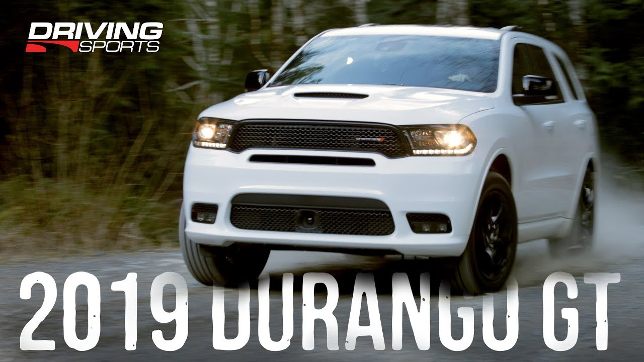 2019 Dodge Durango Gt Awd Review Snow Dirt And 0 60 Drivingsportstv