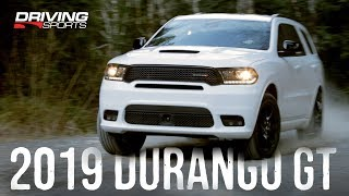 2019 Dodge Durango GT AWD Review - Snow Dirt and 0-60 #drivingsportstv