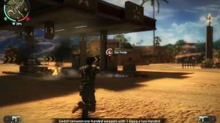 Just Cause 2 PC Demo Gameplay - Part 1 of 2 - HD