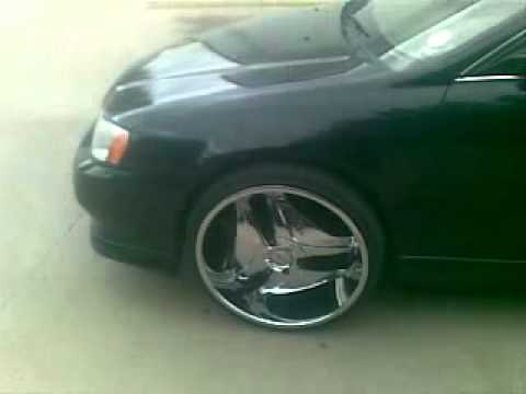 Acura TL on 22's - YouTube