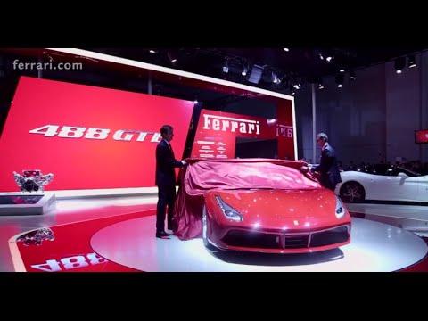 Ferrari 488 GTB makes its Asia-Pacific debut in Shanghai