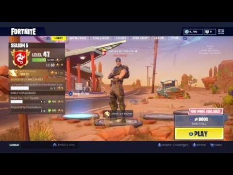 HOW TO ALWAYS SPRINT ON CONSOLE IN FORTNITE!!