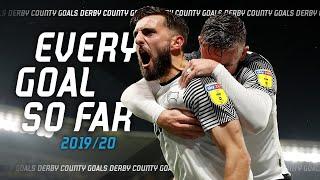 Every Derby County goal so far | 2019/20