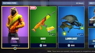 *NEW* DOGGO SKIN FORTNITE ITEM SHOP MAY 25th - Fortnite SEASON 9 Live (Fortnite Battle Royale)