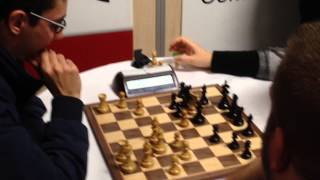 London Chess Classic  2013 - Blitz, GM Judit Polgar - GM Fabiano Caruana, 0-1