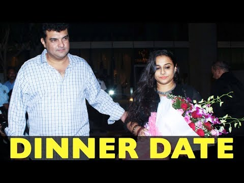 Siddharth Roy Kapur Takes Wife Vidya Balan On A Dinner Date!