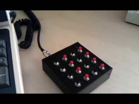 VT-100 macro controller using Arduino