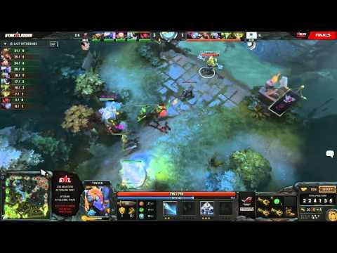 DK vs iG - Game 2 (Starladder IX LAN - WB Round 1)