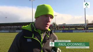 Irish Rugby TV: Paul O'Connell On His New Role As Ireland U-20 Assistant Coach