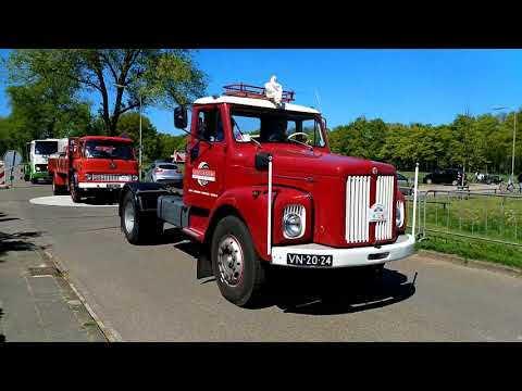 Oldtimers Truckersparade Oldebroek